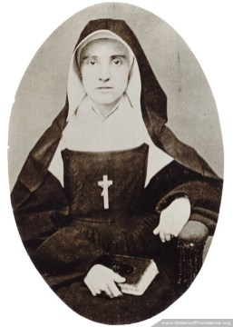 Mother Euphrasie was general superior of the Sisters of Providence from 1883-1889.