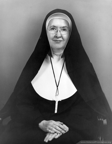 Mother Marie Helene Franey was general superior of the Sisters of Providence from 1948-1953.