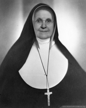Mother Mary Bernard was general superior of the Sisters of Providence from 1938-1948.