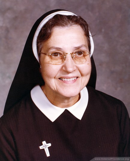 Mother Mary Pius was general superior of the Sisters of Providence from 1966-1976.