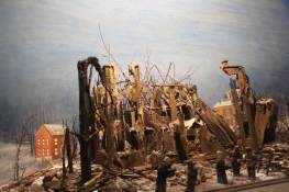 """Fire of 1889"". No original. A fire completely destroys all of the first Providence Convent on Feb. 7, 1889."