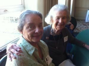 Immaculata alumnae - Shea and Buckley