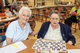 Sister Joan Kirkpatrick and Sister Rita Lerner