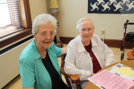 Sister Ann Casper and Sister Mary Roger Madden