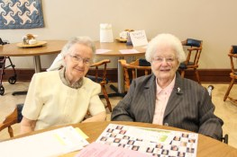 Sister Noralee Keefe and Sister Eileen Clare Goetzen