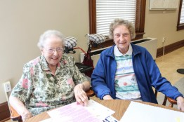 Sister Edwardine McNulty and Sister Maureen Ann McCarthy