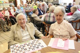 Sister Dorothy Marie Ahern and Sister Kathryn Koressel