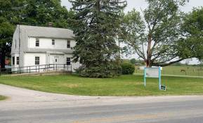 """A lot of learning happened here. The """"House on 150,"""" located just outside the north gates to Saint Mary-of-the-Woods, housed the ministry at Educational/Family Services."""