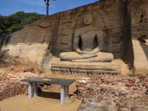 Buddha at Polonnaruwa