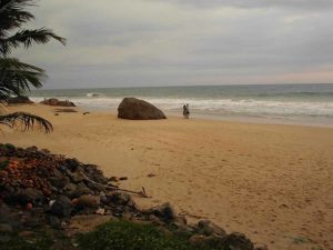 I took this photo of the Galle shore, a southern shore on the island.