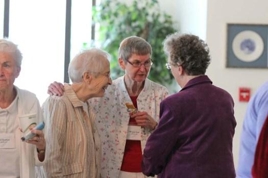 Sister Margaret Wilson, Sister Bridgette Ann Bonner, Sister Joseph Ellen Keltzer