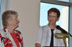Sister Jenny Howard and Sister Dawn Tomaszewski.
