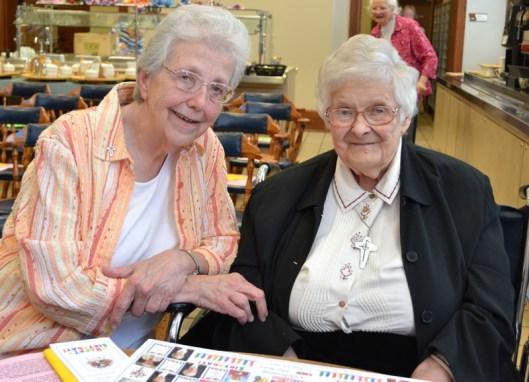Sister Ann Casper and Sister Mary Michael Lager