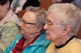 Sisters (from left) Carol Lindly and Joyce Brophy