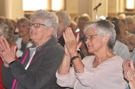 Sister Lisa Stallings (left) with Sister Denise Wilkinson. (Photo by Sister Evelyn Ovalles)