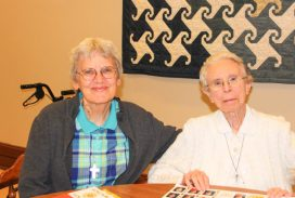 Sister Nancy Bartasavich and Sister Bernadette Mary Carroll