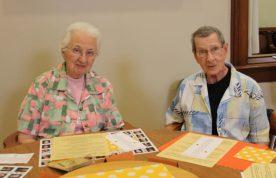 Sister Annette Schipp and Sister Mary Jo Stewart