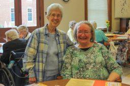 Sister Adele Beacham and Sister Martha Wessel