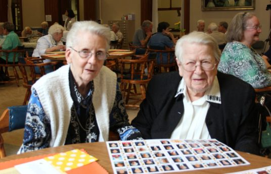 Sister Betty Donoghue and Sister Jane Bodine