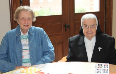 Sister Maureen Ann Mc Carthy and Sister Helen Therese Conway