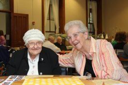 Sister Mary Michael Lager and Sister Ann Casper