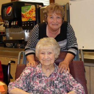 Mary Keyes and Marianne Frey