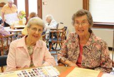 Sister Rita Clare Gerardot and Sister Joan Zlogar