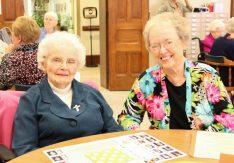Sister Michaela Galvin and Sister Carole Ann Fedders