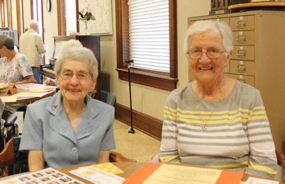 Sister Rose Marita Riordan and Sister Mary Ann McCauley