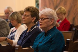 Sister Dawn Tomaszewki and Sister Lisa Stallings