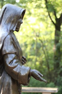Saint Mother Theodore Guerin statue