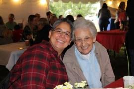 Sister Joni Luna and Sister Regina Marie McIntyre
