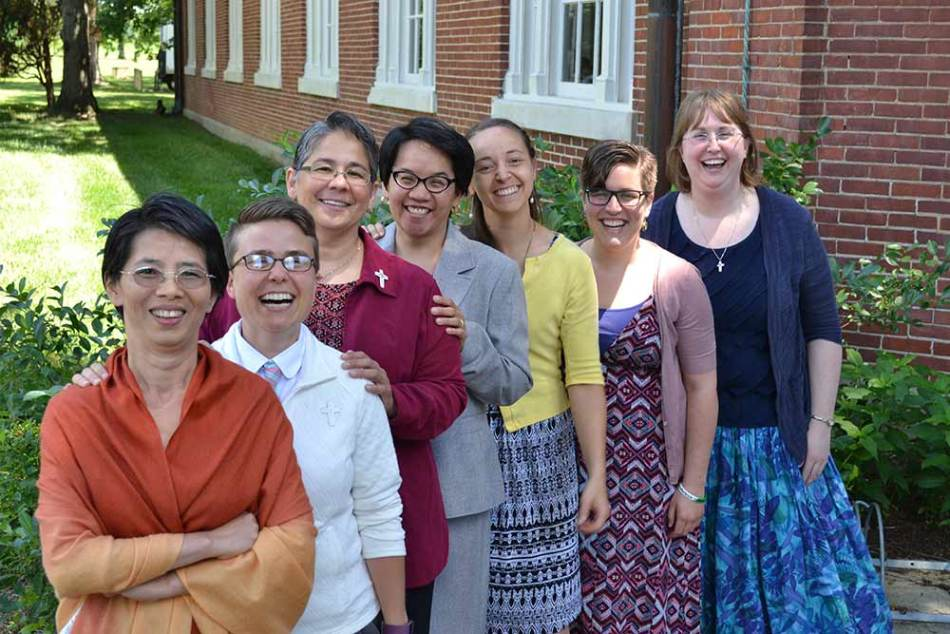 young nuns, young Sisters of Providence, women religious, vocations to religious life,