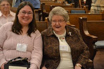 Providence Associate Patti Burris and her companion Sister Kay Kelly