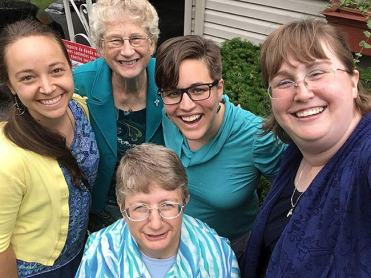 """All single, Catholic women ages 18-42 are invited to learn more about the Sisters of Providence during the """"Come and See"""" retreat, on April 6-8, at Saint Mary-of-the-Woods, Indiana."""