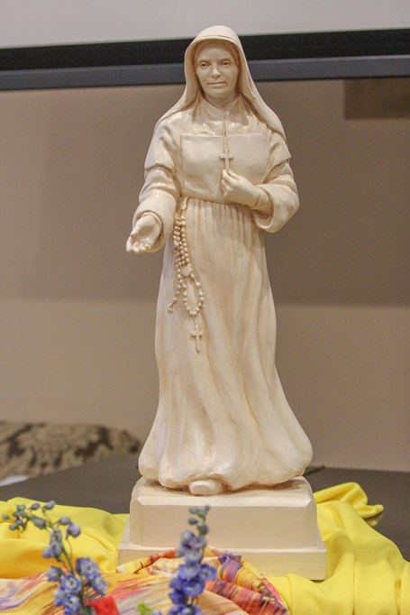 Statue of Saint Mother Theodore Guerin