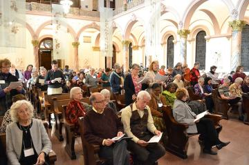 Forty Providence Associates also renewed their commitments during the liturgy.