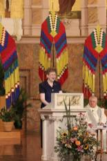 General Superior Sister Dawn Tomaszewski gives a reflection