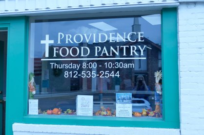 As of 2019, Providence Food Pantry, a ministry of the Sisters of Providence, celebrates 25 years of service to West Terre Haute residents.