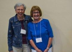 Providence Associate Marilyn Webb companions candidate Carol Ann Woodfall