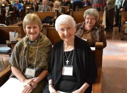 New Providence Associate Michelle Barrentine with her Sister companion Sister Carolyn Kessler