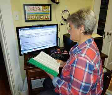 During COVID-19 quarantine, Sister Katherine Francis French wrote and shared via the internet weekly reflections on the Sunday Scripture readings.