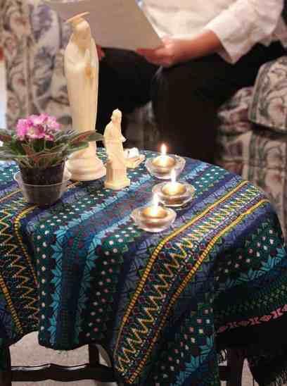 Prayer centerpiece