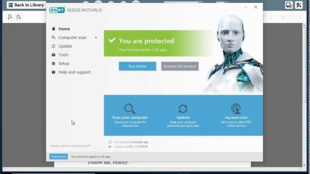 ESET NOD32 Antivirus 11.0.159.5 Final Full Crack Download