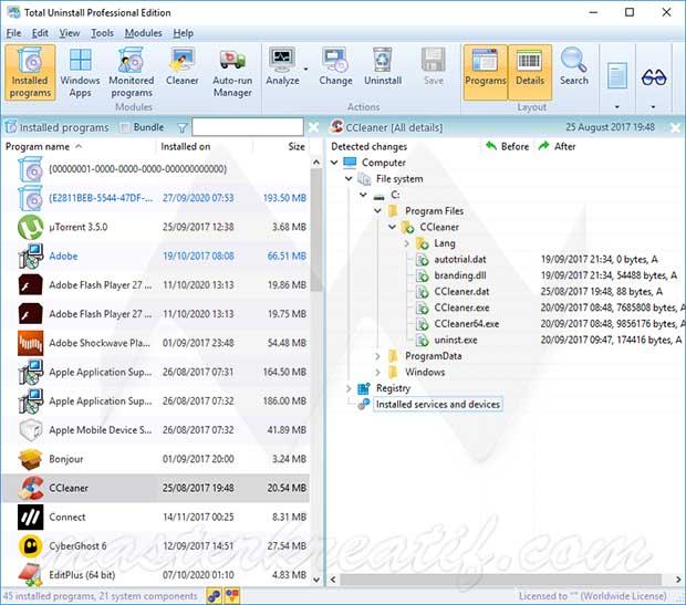 Total Uninstall Pro 6.22.0 Crack Full Free Download