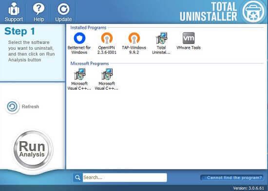 Total Uninstaller 3.3.0.161 Crack