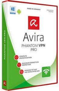 Avira Free Phantom VPN 2.12.7.22015 Crack