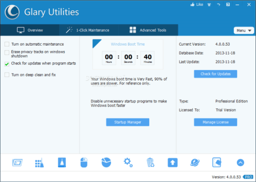 Glary Utilities 5.94.0.116 Crack