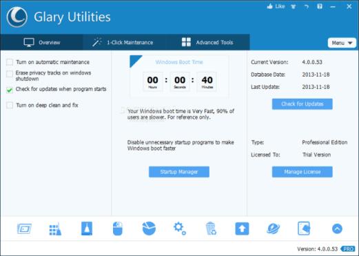 Glary Utilities 5.94.0.116 Crack
