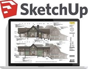 SketchUp Pro 2018 18.0 Crack